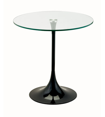 Adesso WK2134-01 Coronet 20 inch Black Accent Table photo