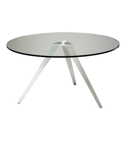 Adesso Juneau Coffee Table in Satin Steel WK2336-22 photo