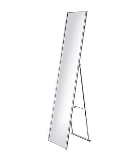 Adesso WK2444-22 Alice 59 X 14 inch Satin Steel Floor Mirror Home Decor photo
