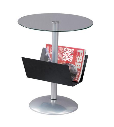 Adesso Sutton Magazine Table in Black WK2966-01 photo