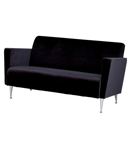 Adesso Memphis Sofa in Black WK4225-01 photo