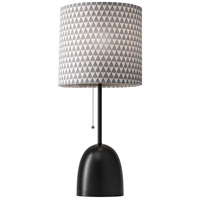 Lola 29 inch 150 watt Black Table Lamp Portable Light