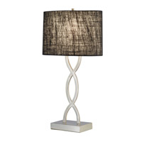 Adesso Juliette 1 Light Table Lamp in Black 1524-01