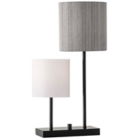 Aubrey 26 inch 60 watt Black Table Lamp Portable Light