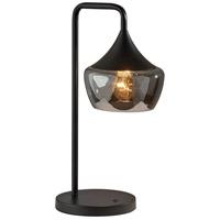 Adesso 2142-01 Eliza 20 inch 60 watt Black Table Lamp Portable Light
