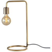 Adesso 3037-21 Morgan 17 inch 40 watt Antique Brass Desk Lamp Portable Light
