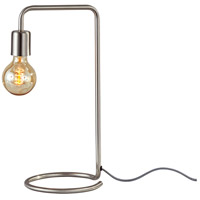 Adesso 3037-22 Morgan 17 inch 40 watt Brushed Steel Desk Lamp Portable Light