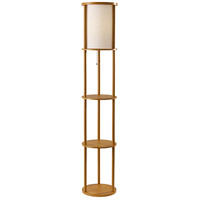 Adesso Wood Floor Lamps