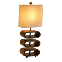 Adesso Rhythm 1 Light Floor Lamp in Walnut 3203-15 photo thumbnail