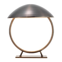 Adesso Relic 1 Light Table Lamp in Antique Pewter 3238-23 photo thumbnail