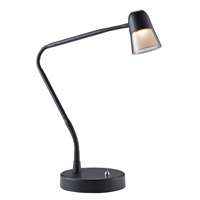 Adesso Observer 24 in. Black LED Desk Lamp 3270-01