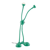 Adesso Alien LED Desk Lamp in Emerald Green 3275-05