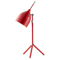 Adesso Snapshot Desk Lamp in Red 3280-08