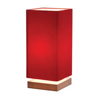 Adesso Angelina Table Lamp in Red 3326-08