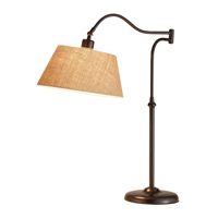 Adesso 3348-26 Rodeo 27 inch 60 watt Antique Bronze Table Lamp Portable Light photo thumbnail
