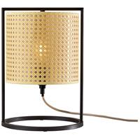 Adesso 3358-26 Fern 14 inch 60 watt Antique Bronze Table Lantern Portable Light