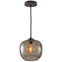 Adesso 3435-01 Ashton 1 Light 9 inch Matte Black Pendant Ceiling Light