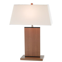 Adesso Jefferson Table Lamp in Oak 3460-16