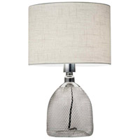 Sparrow 19 inch 100 watt Chrome Table Lamp Portable Light