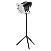 Adesso Starlet 1 Light LED Desk Lamp in Black 3800-01