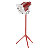 Adesso Starlet 1 Light LED Desk Lamp in Red 3800-08