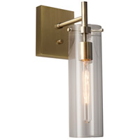 Dalton 1 Light Antique Brass Wall Lamp Wall Light