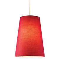 Adesso Harvest Cone Pendant in Red 4000-08