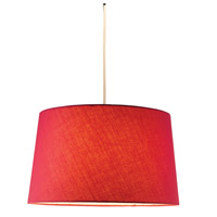 Adesso Harvest Pendant in Red 4002-08