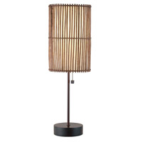 Adesso Maui 1 Light Table Lamp in Antique Bronze 4024-26