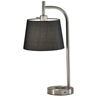 Adesso Fabric Table Lamps