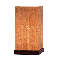 Sedona 13 inch 60 watt Walnut Table Lamp Portable Light