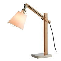 Walden 25 inch 60 watt Natural Table Lamp Portable Light