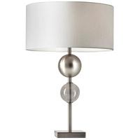 Adesso 4186-22 Chloe 24 inch 150 watt Brushed Steel Table Lamp Portable Light