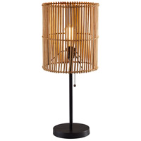 Adesso 4197-12 Cabana 25 inch 60 watt Dark Bronze Table Lamp Portable Light