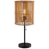 Adesso 4197-12 Cabana 25 inch 60 watt Dark Bronze Table Lamp Portable Light