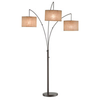 Adesso Trinity Arc Lamp in Antique Bronze 4238-26