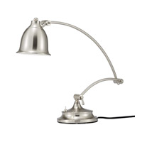 Adesso Graham 1 Light Desk Lamp in Satin Steel 5085-22