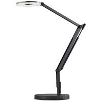 Adesso 6013-01 Gordon 33 inch 9 watt Black LED Desk Lamp Portable Light, with USB Port