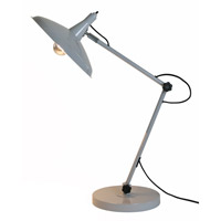 Adesso Explorer Desk Lamp in Grey 6282-03