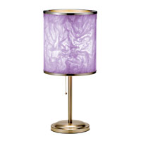 Adesso Papyrus Table Lamp 1 Light in Purple 8003-09 photo thumbnail