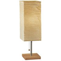 Dune 25 inch 100 watt Natural Tall Table Lamp Portable Light