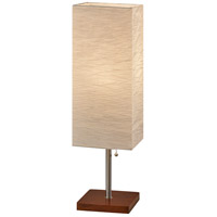 Walnut Rubberwood Table Lamps