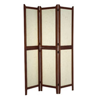 Adesso AR3880-15 Wilton Walnut Folding Screen photo thumbnail