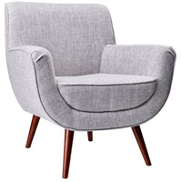 Cormac Light Grey Fabric Chair