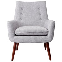 Adesso GR2001-03 Addison Light Grey Fabric Chair alternative photo thumbnail