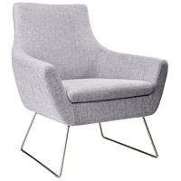 Kendrick Light Grey Fabric Chair Home Decor
