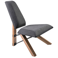Hahn Charcoal Grey Fabric Chair