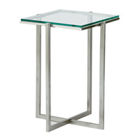 Adesso Glacier Small Pedestal in Satin Steel HX1124-22