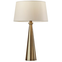 Adesso SL1141-21 Lucy 22 inch 100 watt Antique Brass Table Lamps Portable Light 2 Pack Simplee Adesso