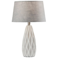 Adesso SL1149-02 Joan 23 inch 100 watt White Table Lamps Portable Light 2 Pack Simplee Adesso